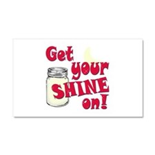 Get your Shine on Car Magnet 20 x 12