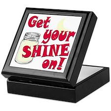 Get your Shine on Keepsake Box