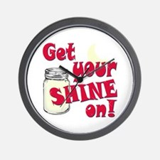 Get your Shine on Wall Clock