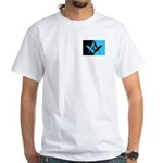 Masonic Rectangle White T-Shirt