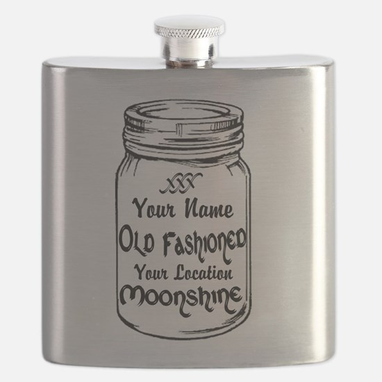 Custom Moonshine Flask