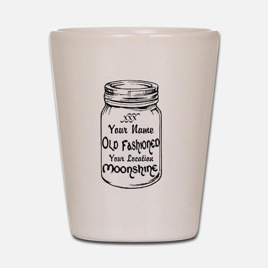Custom Moonshine Shot Glass