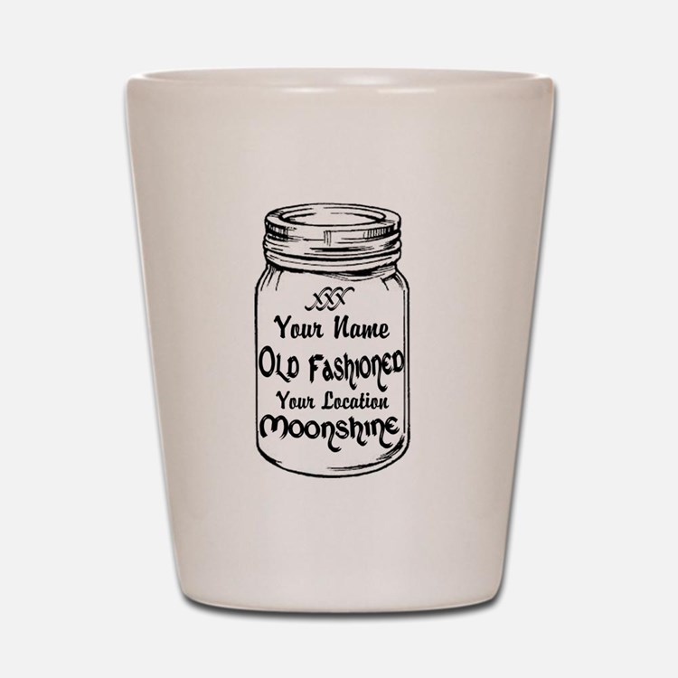 Custom Moonshine Shot Glass