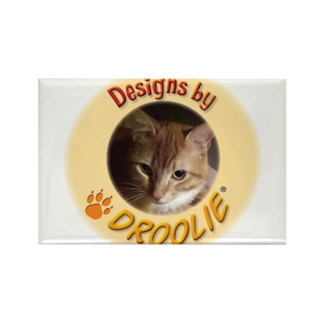 Designs by Droolie® Rectangle Magnet