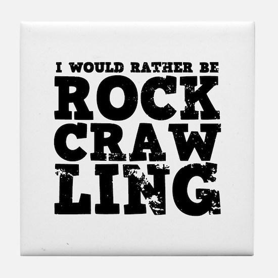 'Rock Crawling' Tile Coaster