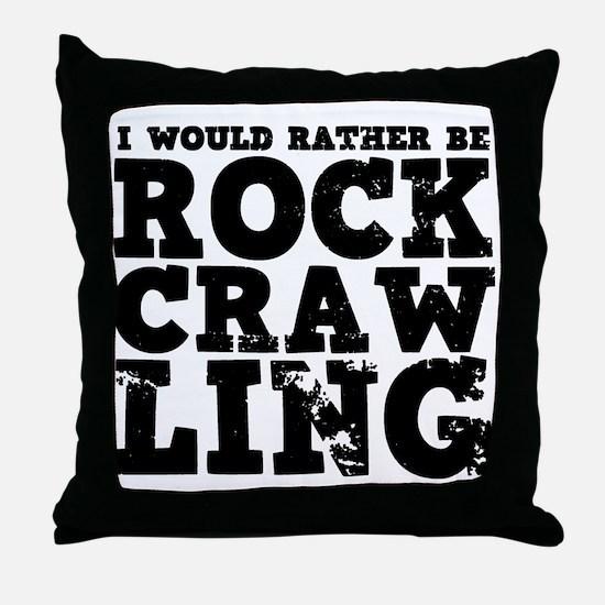 'Rock Crawling' Throw Pillow
