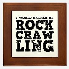 'Rock Crawling' Framed Tile