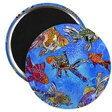 "Wild Goldfish 2.25"" Magnet (100 pack)"