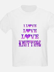 Love Love Knitting T-Shirt