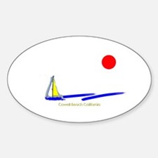 Cowell Oval Decal