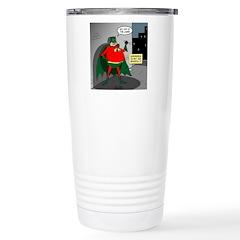 Aging Superheros Travel Mug
