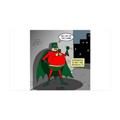 Aging Superheros Wall Decal