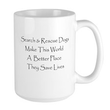 Search And Rescue Dogs. Mug