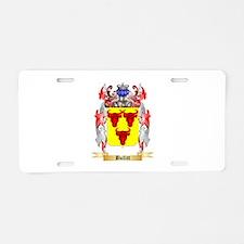 Bullitt Aluminum License Plate
