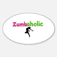 Zumbaholic Decal