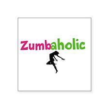 Zumbaholic Sticker
