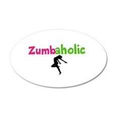 Zumbaholic Wall Decal