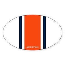 Auburn Helmet Line Decal