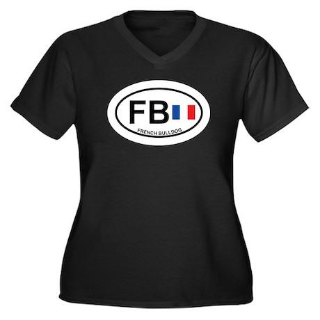 French Bulldog Plus Size T-Shirt