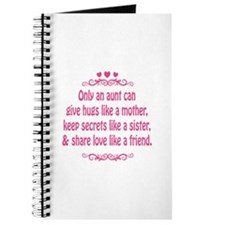 Only an aunt can give hugs like a mother Journal