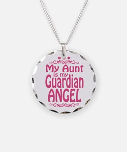 My Aunt is My Guardian Angel Necklace