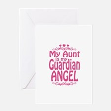 My Aunt is My Guardian Angel Greeting Card