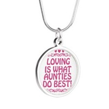 Loving is What Aunties Do Best Necklaces