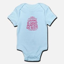 Loving is What Aunties Do Best Infant Bodysuit