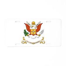53rd Armor Regiment Aluminum License Plate
