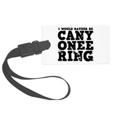 'Canyoneering' Luggage Tag