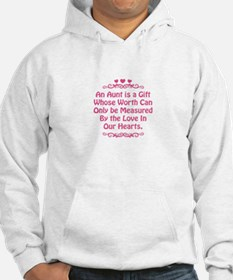 Aunt is a Gift Measured by Love Hoodie