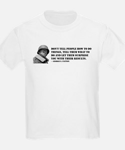 Patton Quote - How Kids T-Shirt