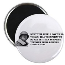 Patton Quote - How Magnet