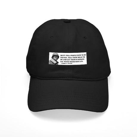Patton Quote - How Black Cap