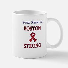 Boston Strong Ribbon Lt - Personalized! Mug
