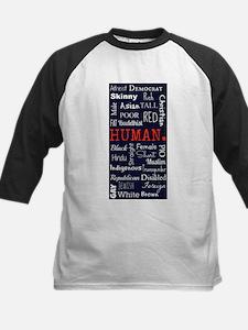 Human Kids Baseball Jersey