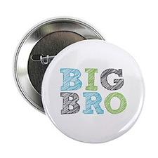"""Sketch Style Big Bro 2.25"""" Button"""