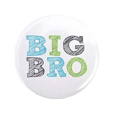 """Sketch Style Big Bro 3.5"""" Button"""