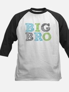 Sketch Style Big Bro Baseball Jersey