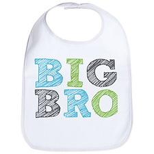Sketch Style Big Bro Bib