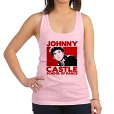 Johnny Castle Dance Bold Racerback Tank Top