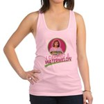 I Carried A Watermelon Racerback Tank Top
