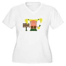 Tropical Leilani Plus Size T-Shirt