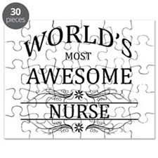 World's Most Awesome Nurse Puzzle