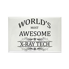 World's Most Awesome X-Ray Tech Rectangle Magnet