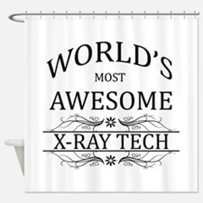 World's Most Awesome X-Ray Tech Shower Curtain