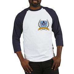 Masonic Freemason Crest Baseball Jersey