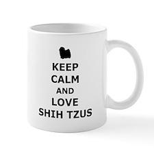 Love Shih Tzus Mug