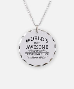 World's Most Awesome Traveling Nurse Necklace