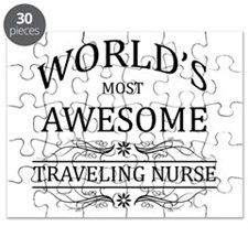 World's Most Awesome Traveling Nurse Puzzle